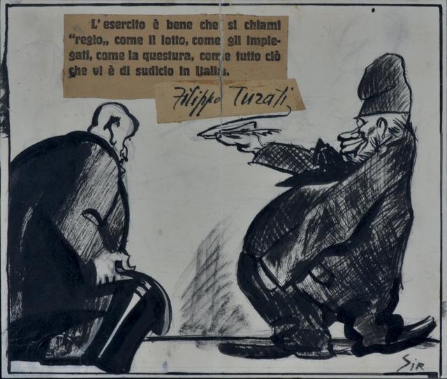 Mario Sironi, 'MASSIME...PATRIOTTICHE', 1924, Itineris