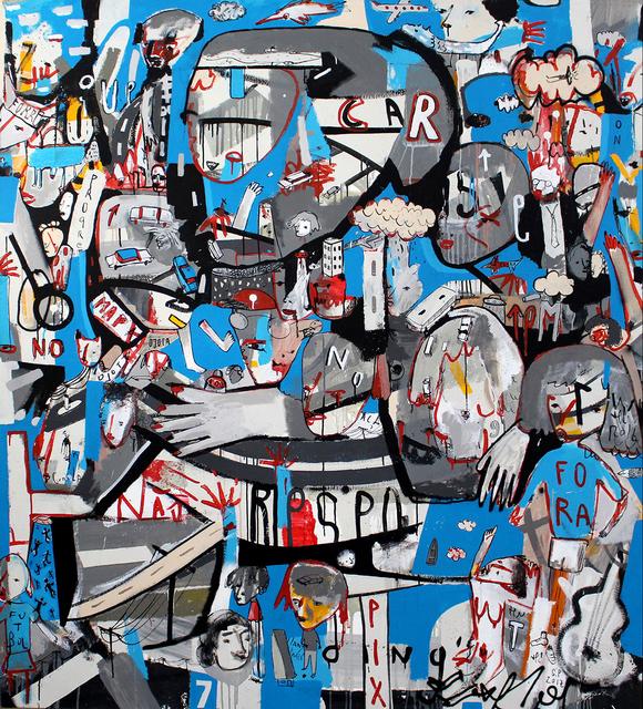 , 'Azul Tesoro Urbano,' 2017, Choque Cultural