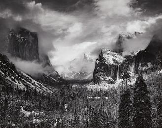Ansel Adams, 'Clearing Winter Storm, Yosemite National Park, California,' 1944, Phillips: Photographs (April 2017)