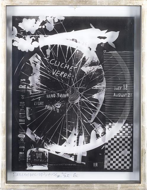 Robert Rauschenberg, 'Cliché verre', 1980, Il Ponte