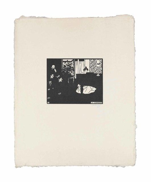 Félix Vallotton, 'La Symphonie', 1897, Print, Woodcut on Japan paper, Christie's