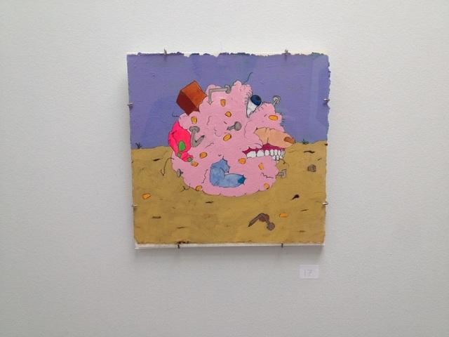 Austin Furtak-Cole, 'Cornball', 2016, Painting, Flasche on paper, Park Place Gallery