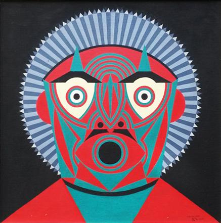 , 'Máscara verde ,' , Referência Galeria de Arte