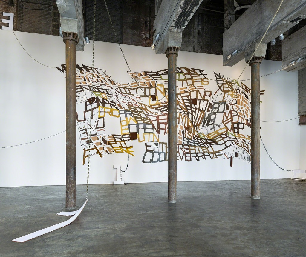 Image courtesy of Smack Mellon.  Photo by Etienne Frossard.  Installation view.