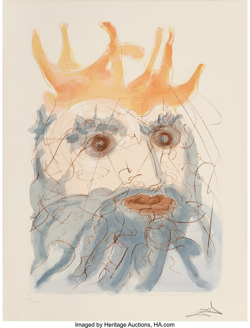 Salvador Dalí, 'Our Historical Heritage', 1975, Print, Complete set of 11 drypoints and pochoirs in colors on Arches on paper, Heritage Auctions