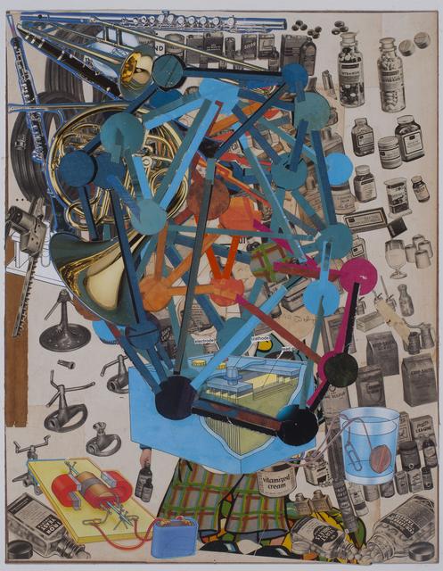 , 'Pill Head,' 2015, TAI Modern