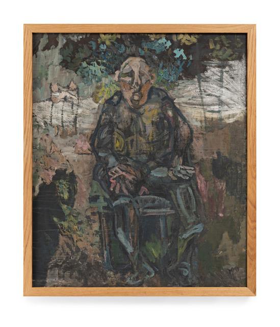 Siri Derkert, 'Sittande man (Döv man),', 1944-1945, Andréhn-Schiptjenko