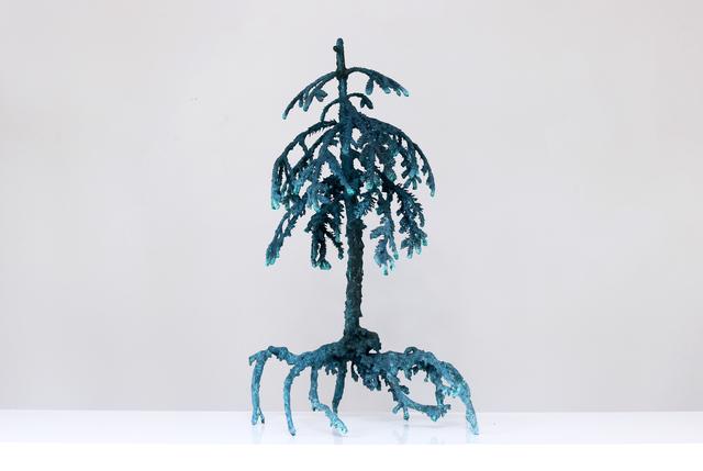 Ellen Ehk Åkesson, 'Night Tree #12', 2018, Sculpture, Bronze, Berg Gallery