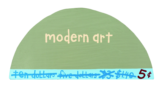 , 'Modern Art 5 Cents,' 1995, Contemporary Jewish Museum