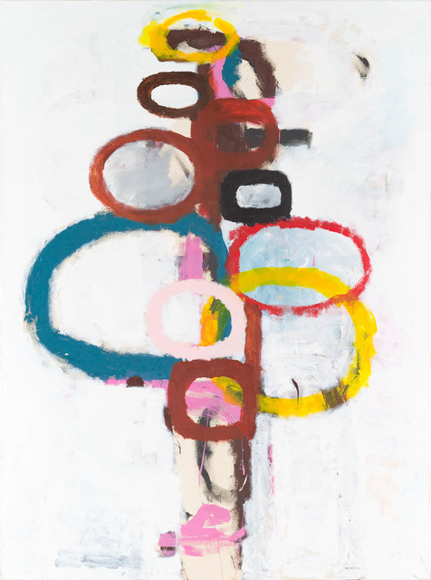 , 'Totem Painting 1,' 2012, Candida Stevens Gallery