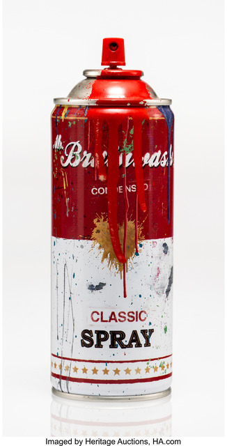 Mr. Brainwash, 'Spray Can (Red)', 2013, Heritage Auctions
