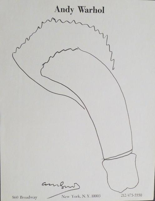 Andy Warhol, 'Untitled', Bengtsson Fine Art