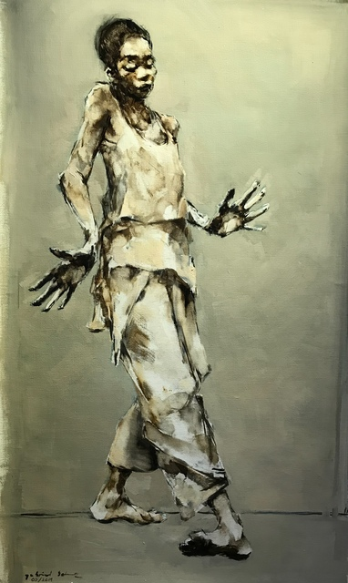 Gabriel Schmitz, 'Step', 2019, Painting, Oil on canvas, GALLERI RAMFJORD