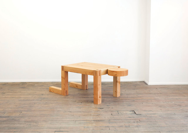 , 'Truth Lies in Experience No Matter How  Incomplete It Might Be (Man/Desk/Table),' 2014, Volume Gallery