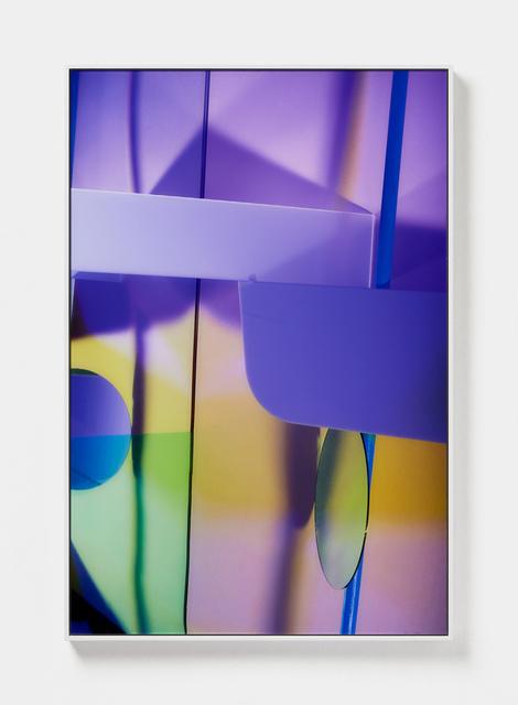 , 'Purple Split,' 2019, ARC ONE Gallery