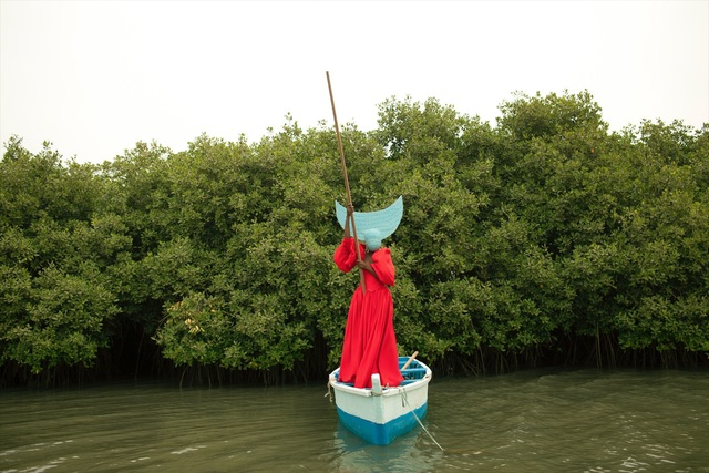 , 'Sailing back to Africa as a Dutch Woman (2) Fortia Series,' 2017, Ed Cross Fine Art