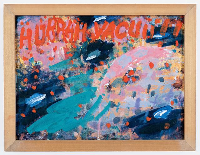 , 'Hurrah Vacuii!!,' ca. 1988, Alexander and Bonin