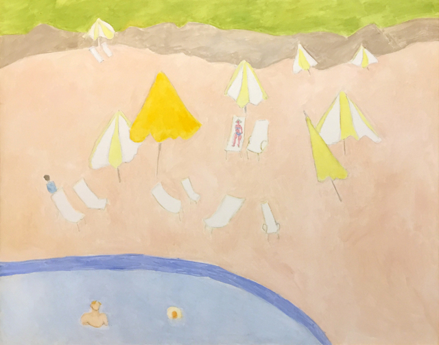 Sally Michel, 'Pool in the Hills', 1988, Childs Gallery