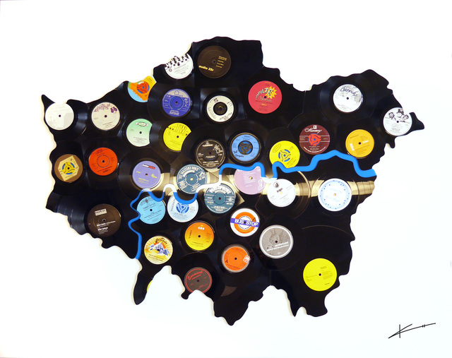 , 'Hitsville London,' 2018, Woolff Gallery