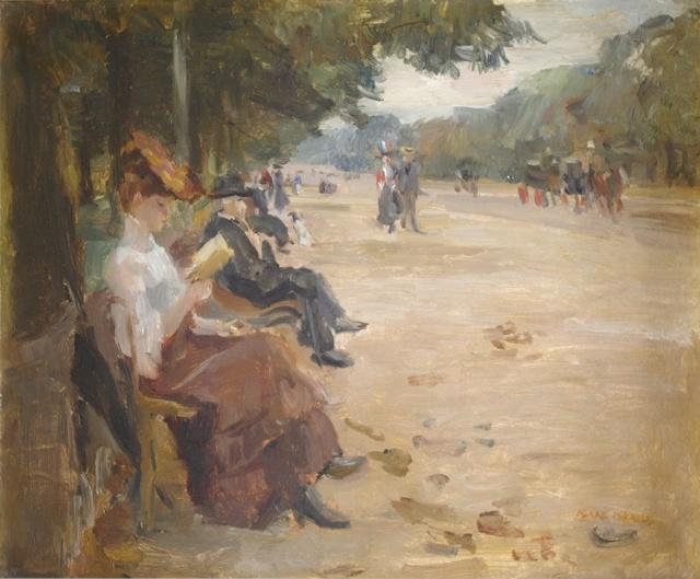 , 'Bois de Boulogne  ,' 1904-1907, SmithDavidson Gallery