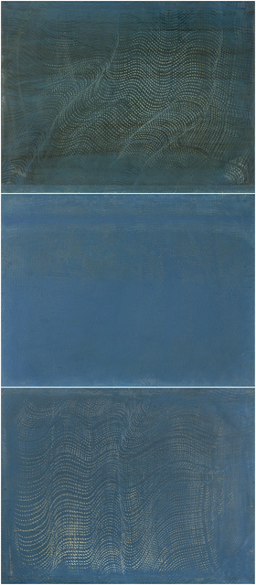 , 'Untitled (three panels),' mid 1990s, Resource Art