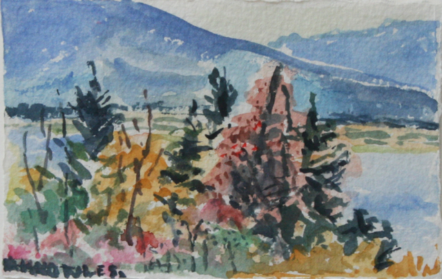, 'Blue Mountain,' , Wallace Galleries