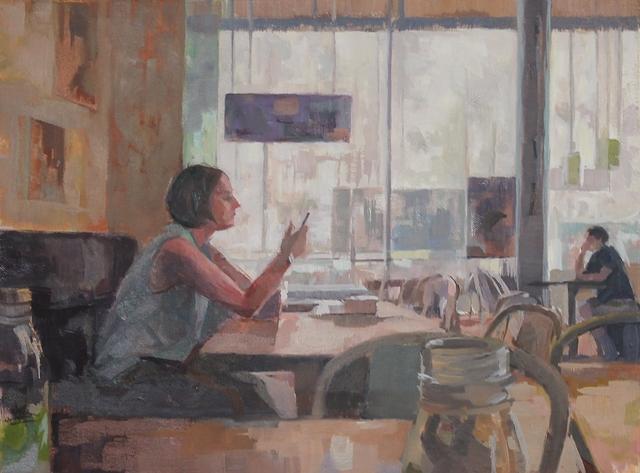 , 'Summer interior,' , Castlegate House Gallery
