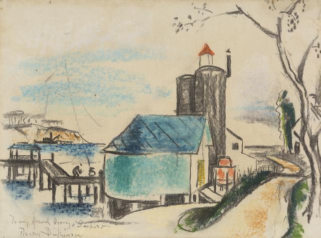 Preston Dickinson, 'Long Island', ca. 1929-1930, Debra Force Fine Art
