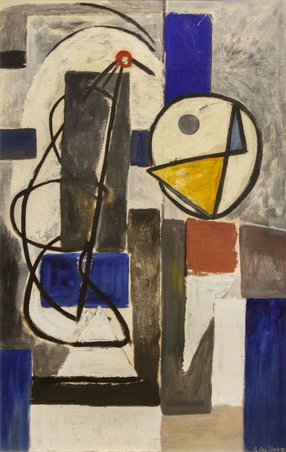 , 'Man & Bird,' 1933, Richard Norton Gallery