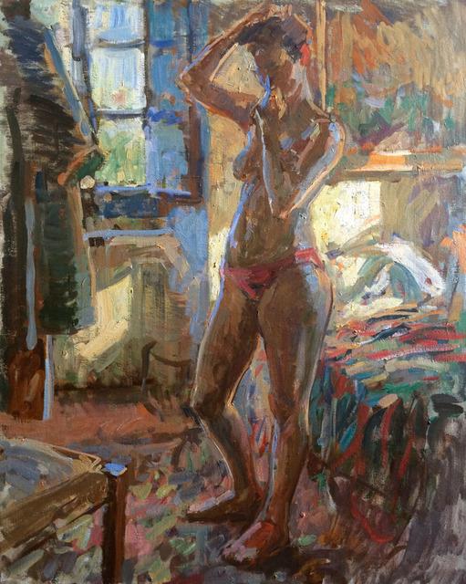 , 'Blue Light Nude, Bea,' 2016, Grenning Gallery