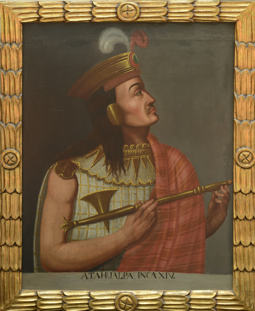 Unknown Artist, 'Portrait of Atahualpa, Inca XIV', 19th century, Musée du quai Branly