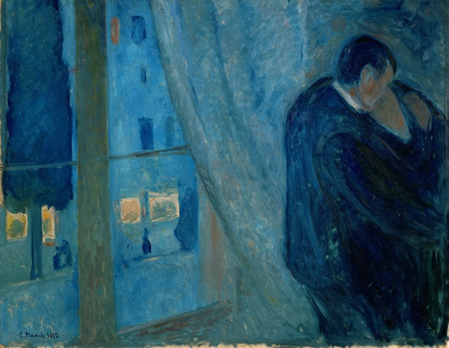 Edvard Munch, 'The Kiss,' 1892, ARS/Art Resource