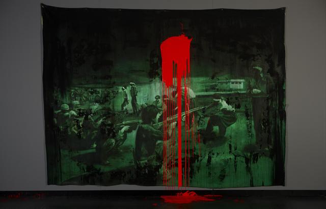, 'FARSA – GOYA (FUSILAMENTOS DE 27 DE AGOSTO DE 1979),' 2013, Galería Vermelho