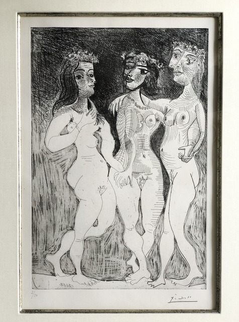 , 'Les Trois Graces Couronnees de Fleurs,' 1938, Fairhead Fine Art Limited