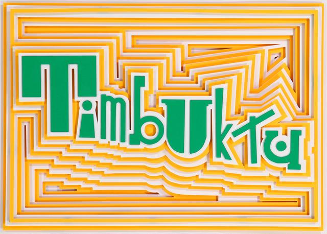, 'Timbuktu,' 2019, Galerie Art Jingle