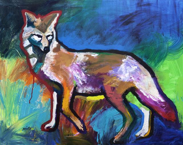 , 'Strolling Coyote,' 2013, Ventana Fine Art