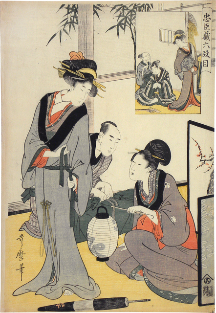 , 'Treasury of Loyal Retainers: Act Six,' ca. 1801-02, Scholten Japanese Art
