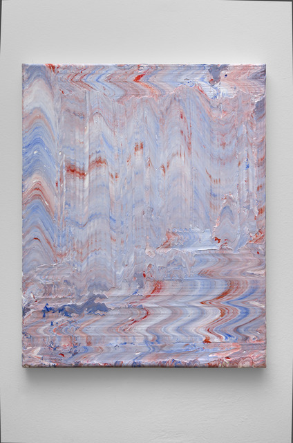 , 'Red, White and Blue (Rhythmic #1),' 2018, Mark Moore Fine Art