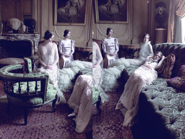 , 'Models in Valentino, VOGUE Italia,' 2011, Staley-Wise Gallery