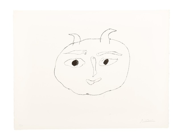 , 'Deuxième Affiche Vallauris (sans la lettre),' 1948, Bode Gallery