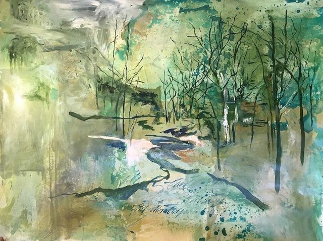 , 'Paisaje verde,' 2018, Enlace Arte Contemporáneo