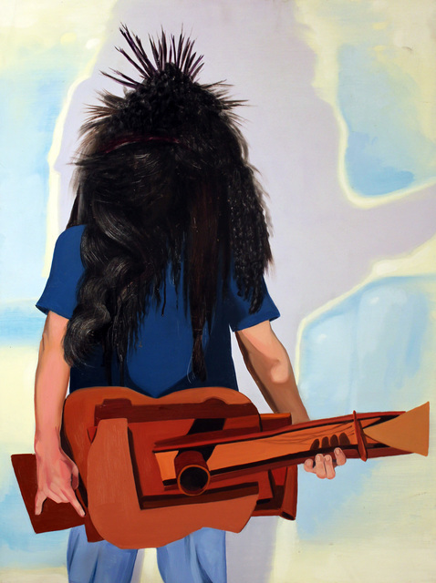 , 'Heavy Metal Picasso Guitar,' 2001, Robert Berman Gallery