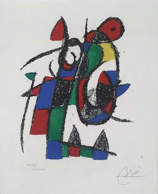 , 'Composition pour Miró Lithographe, no 2.,' 1975, William Weston Gallery Ltd.
