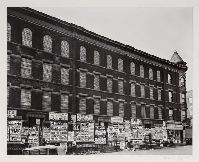 Berenice Abbott, '4th Avenue, no. 154, Brooklyn', 1936, Doyle
