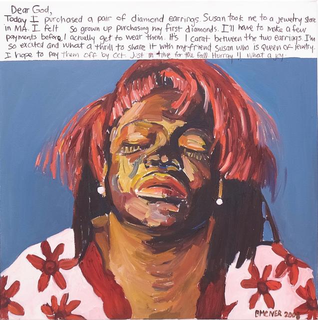 , 'Dear God,' 2008, C. Grimaldis Gallery