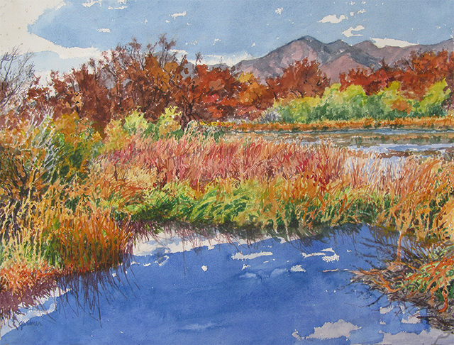 Sheila Gardner, 'Silver Creek, Bluer Than the Sky', Gail Severn Gallery