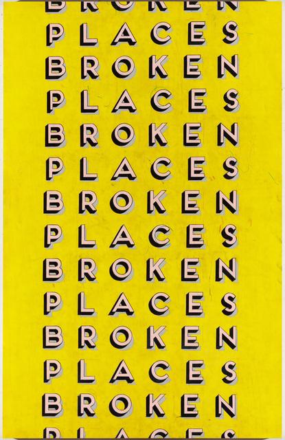, 'Broken Places,' 2018, Gavlak
