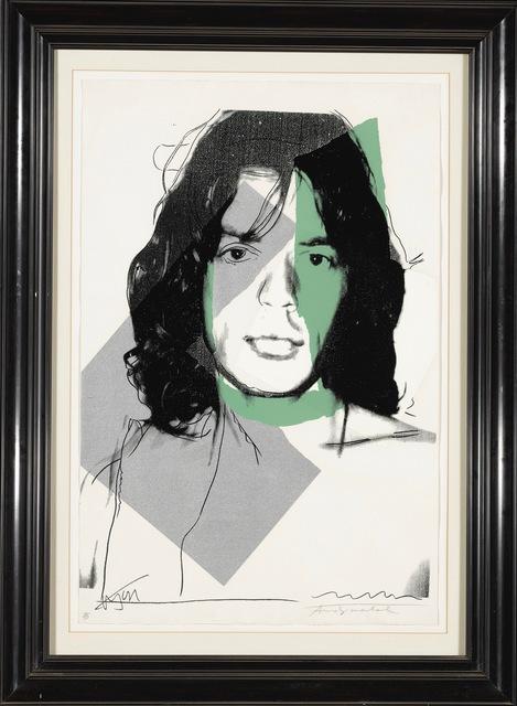 , 'Mick Jagger F&S II.138,' 1975, Fine Art Mia
