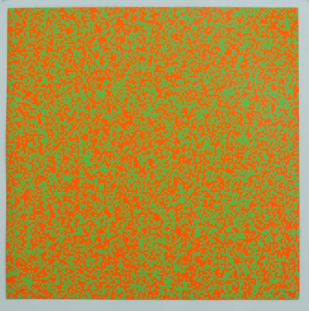 François Morellet, '40'000 carrés ', 1971, Galerie La Ligne