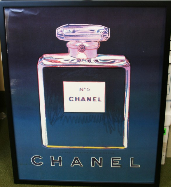 Andy Warhol, 'Chanel No. 5 (Blue) Advertising Poster', 1997, Washington Color